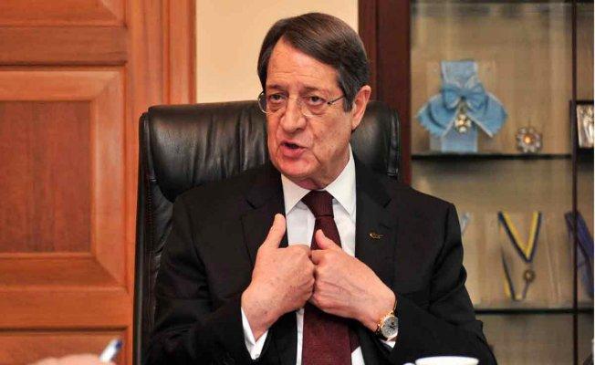 Anastasiadis: Türkiye'ye bağımlı yeni bir devletin kurulması kabul edilemez