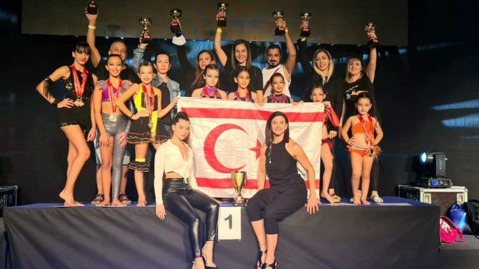 Hırvatistan'da, 'International Dance Open' Yarışmasında, 'Nev Fitness ' KKTC'yi Gururlandırdı.